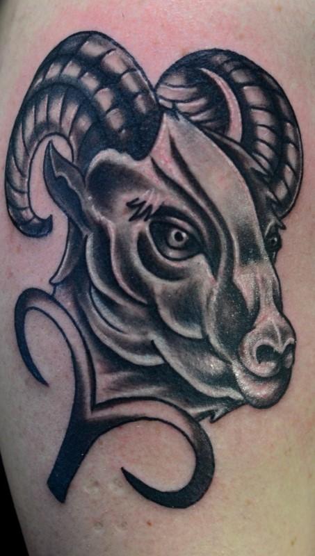 tattoo sternzeichen widder
