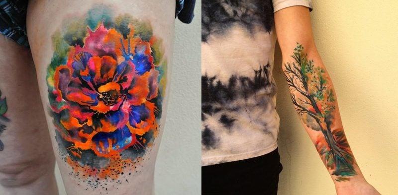 Tattoobilder von Ondrash sind Kunst