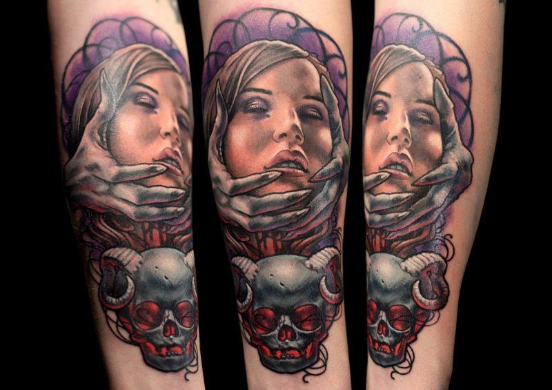 Tattoobilder von Nick Morte