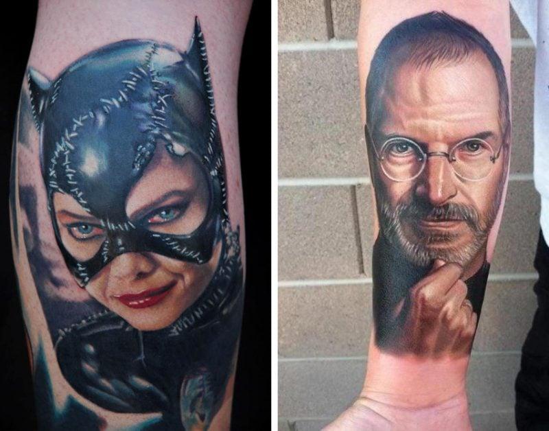 Die besten Tattoobilder von Nikko Hurtado sind Porträts