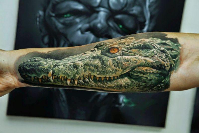 Tattoobilder von Dimitry Samohin