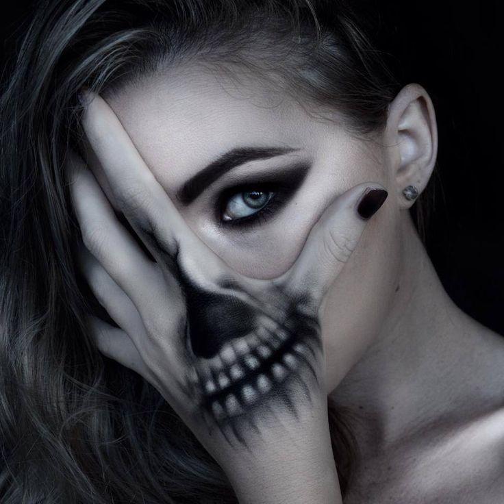 Halloween Tattoovorlage