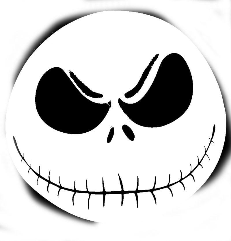 Tattoovorlage Halloween zum Ausdruck