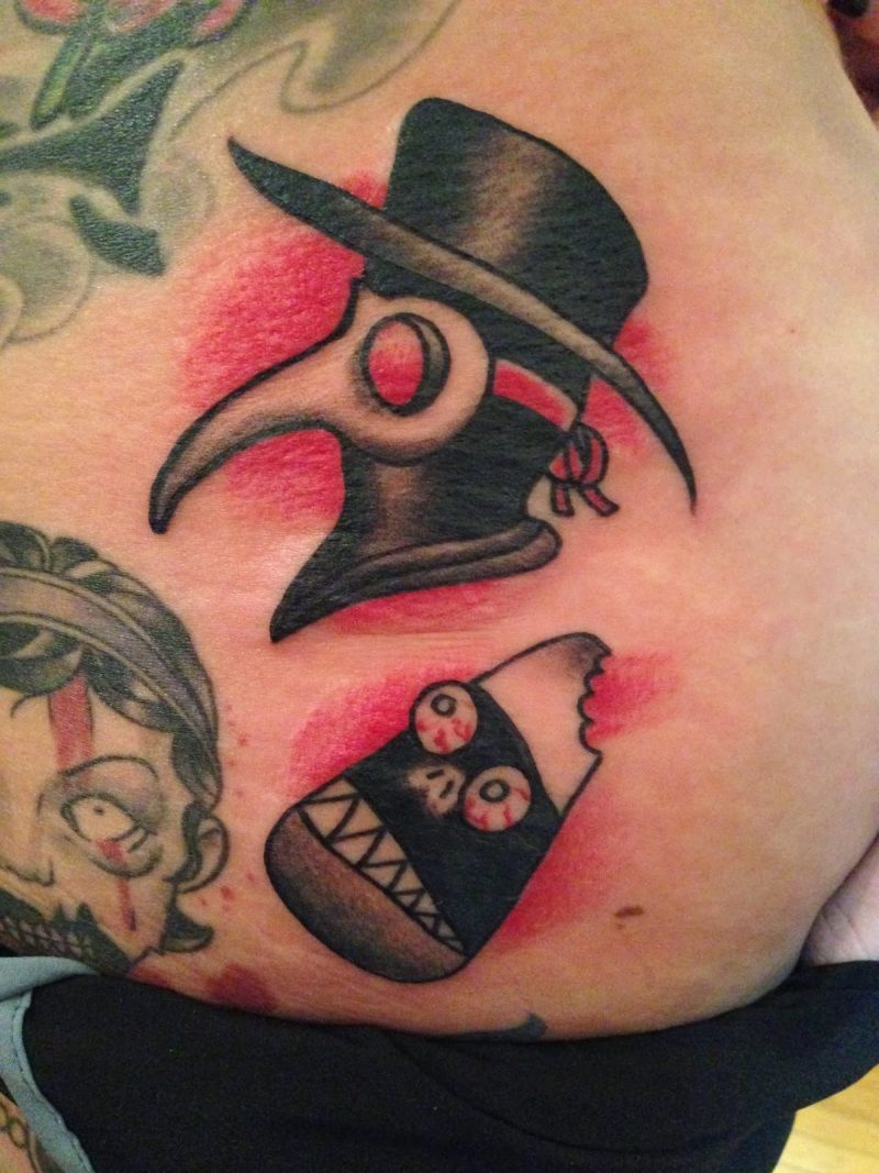 Tattoovorlage Halloween Idee