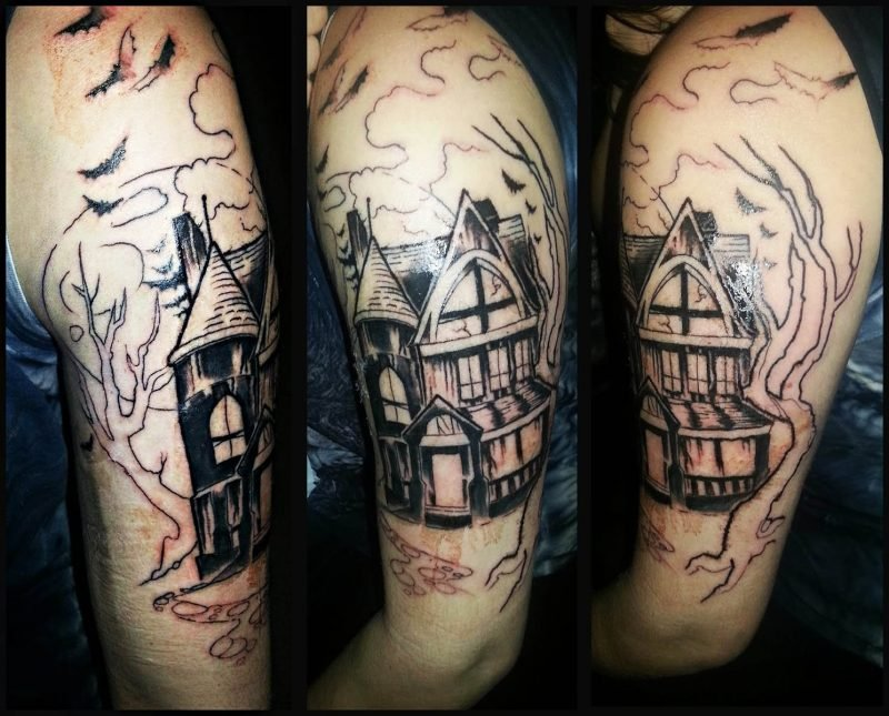 Tattoovorlage Halloween Ideen