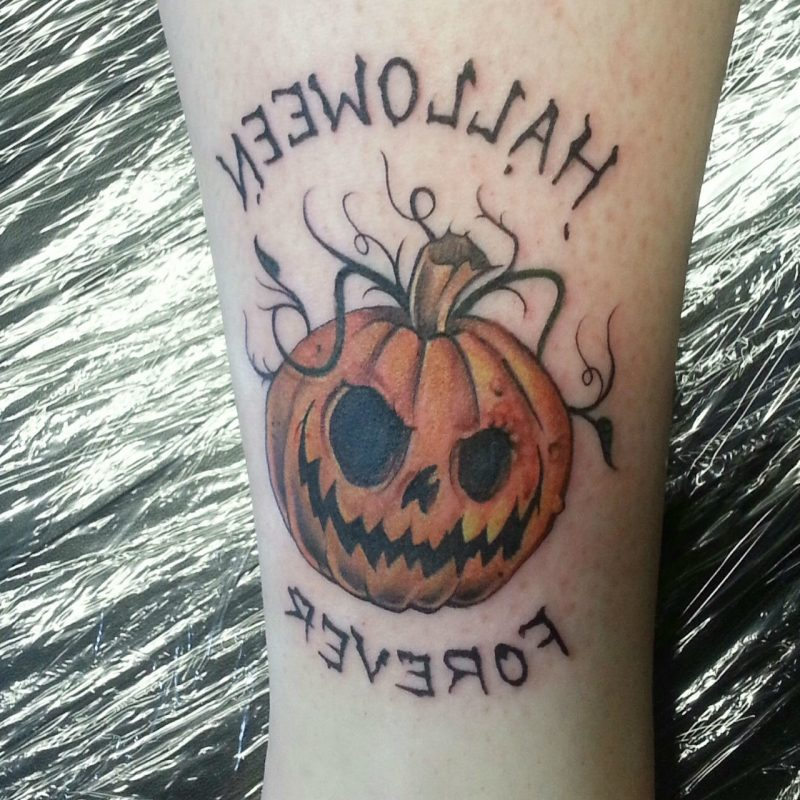 Tattoovorlage Halloween Tattoo