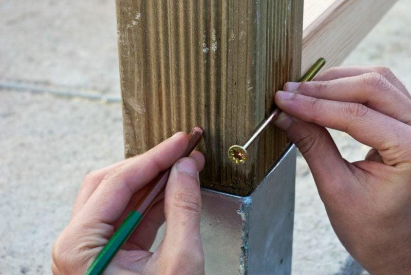 Treppengeländer selber bauen Anleitung