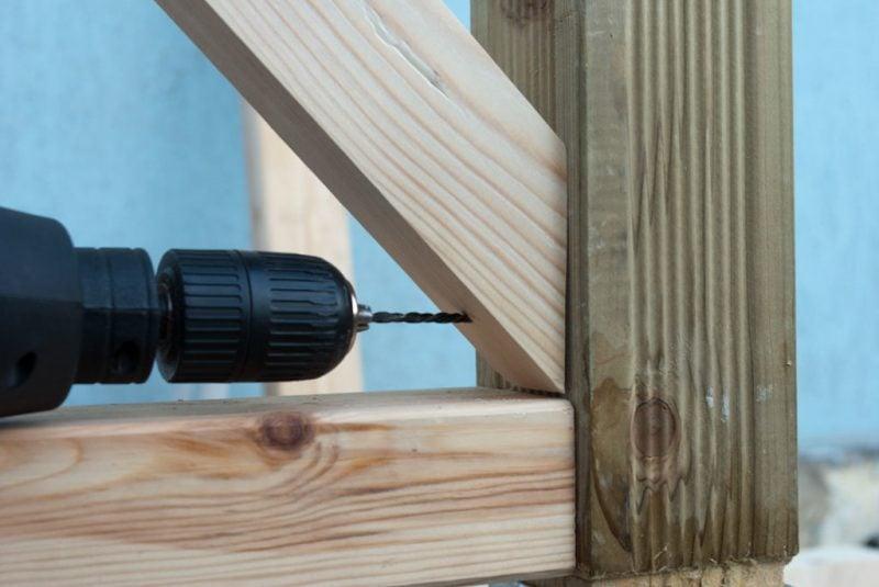 treppengelander selber bauen anleitung schritte aussen holz
