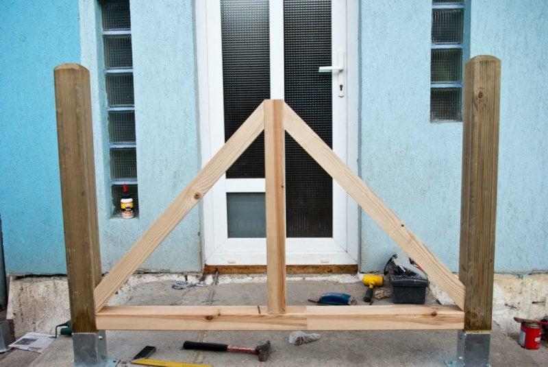 Treppengeländer selber bauen DIY Anleitung