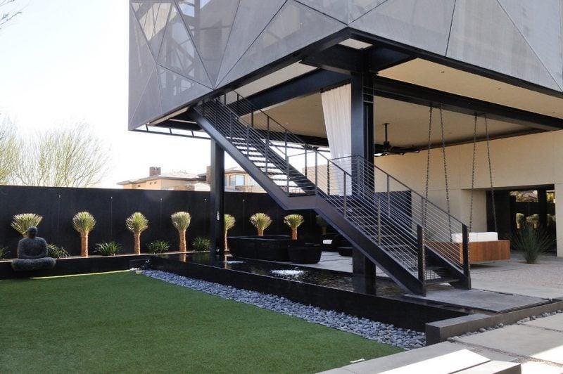 Treppengeländer selber bauen im modernen Design