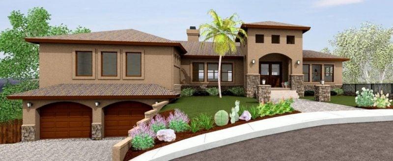 Vorgärten modern Design
