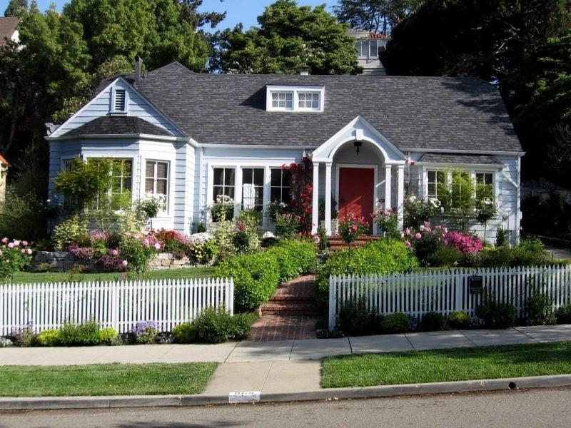 Vorgärten im Landhausstil