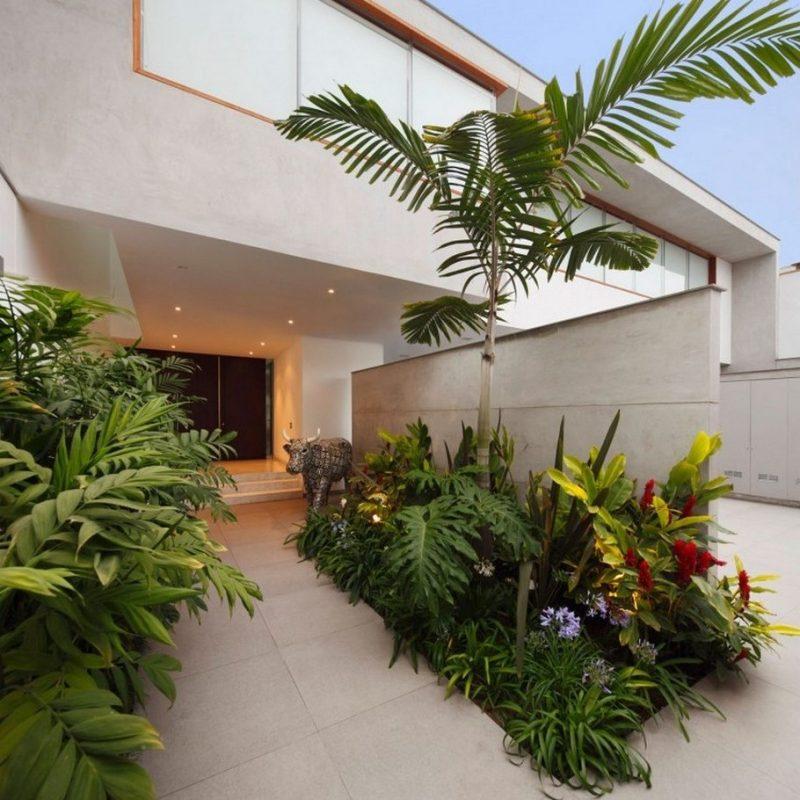schnes zuhausefliesen im vorgarten vorgarten landschaftsbau ideen008 haus design ideen 54 ...