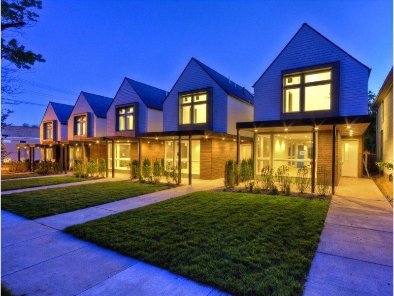 Vorgärten modernes Design