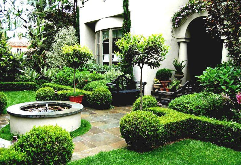 Vorgärten mit Gras bepflanzen