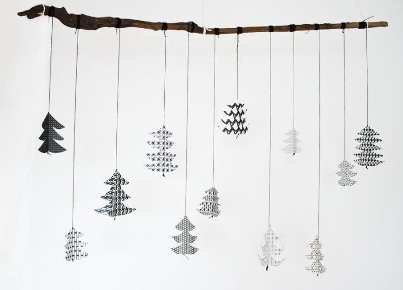 Weihnachtsmotive zum Ausdrucken Weihnachtsdeko Anleitung