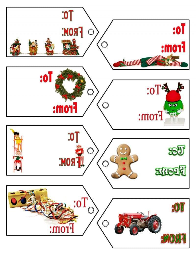 Weihnachtsmotive zum Ausdrucken Geschenkverpackung