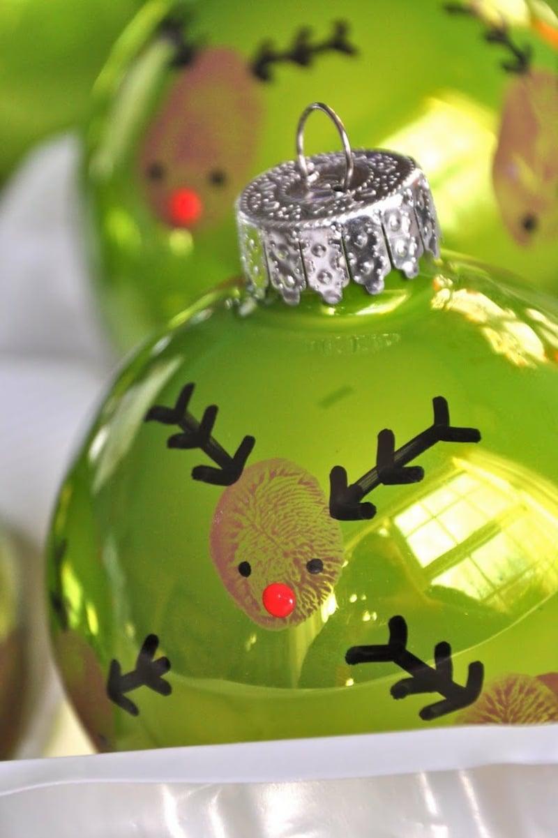 Weihnachtsdeko mit den Kindern basteln Ideen und Inspirationen