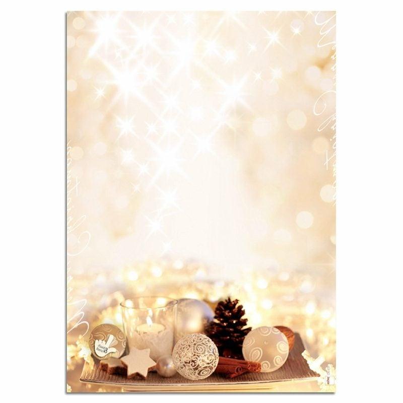 thematisches Briefpapier zu Weihnachten Weihnachtsdeko