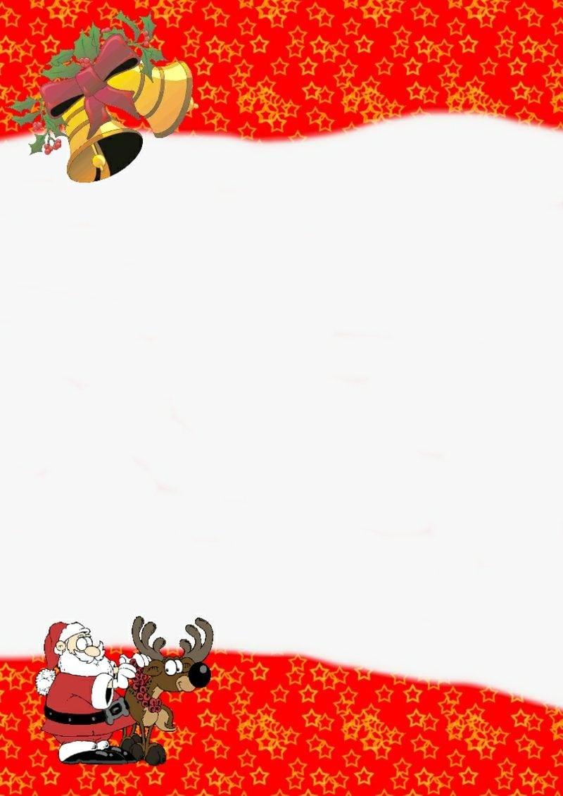 thematisches Briefpapier zu Weihnachten klassischer Look traditionelle Motive