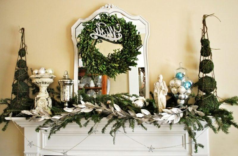 Kreative Dekoideen Zu Weihnachten Kamin