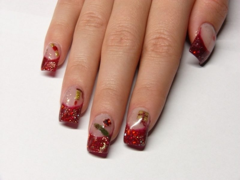 Nailart Galerie French Fingernägel Winter