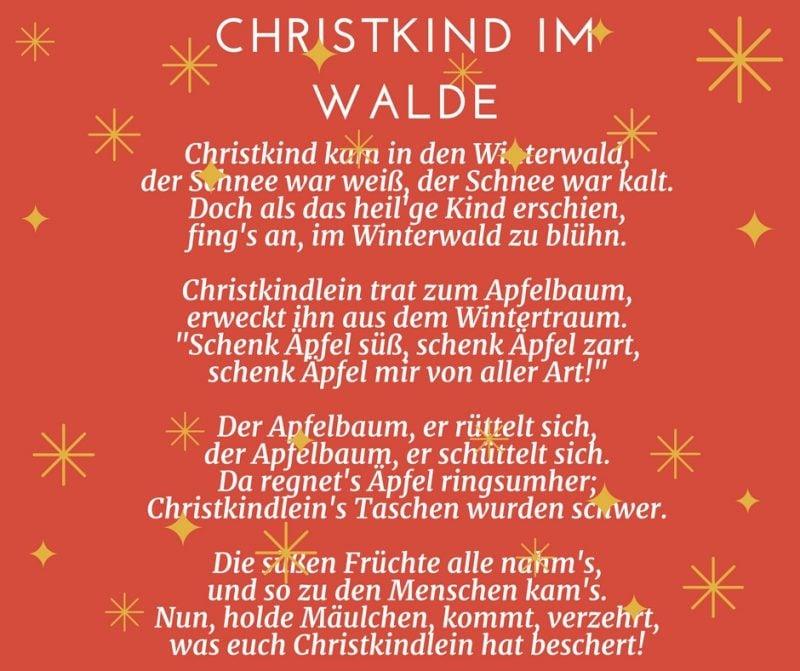 25 gedichte f r weihnachten f r gro und klein deko