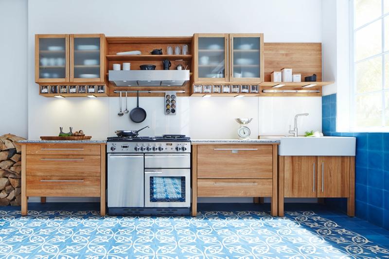 modulare Landhausküche