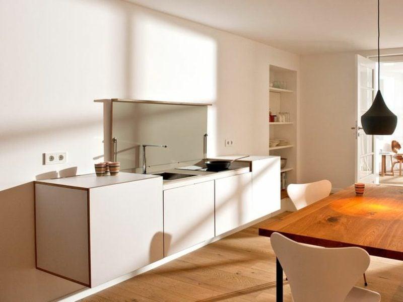 Modulküche schlichtes Design