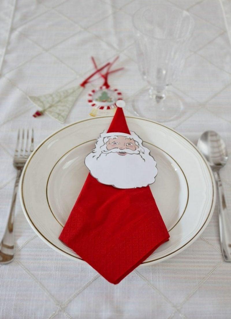 servietten falten zu weihnachten 20 originelle tischdeko. Black Bedroom Furniture Sets. Home Design Ideas