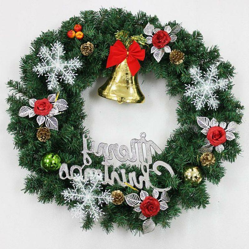 Dekoideen zu Weihnachten Türkranz künstlich