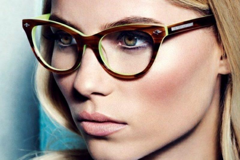 Brillenmode 2016 Herbst Winter grosse Brillen im Vintage Stil