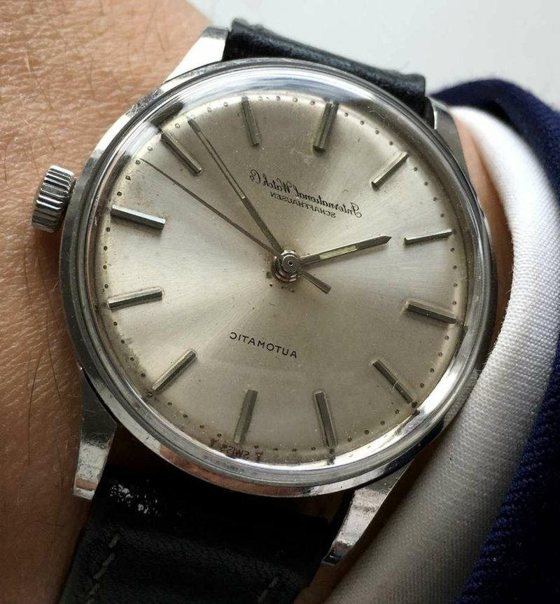 Geschenksidee für den selbstbewussten mann Vintage Armbanduhr