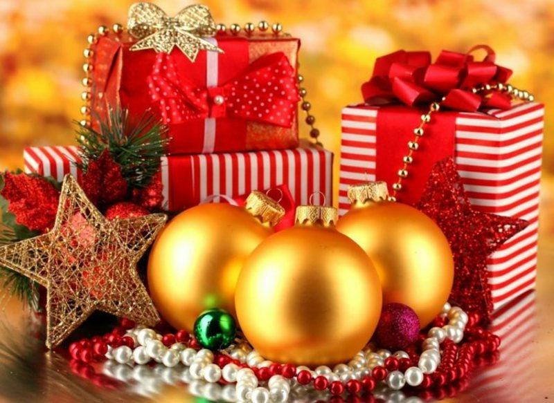Weihnachtsgeschenke herrlicher Look