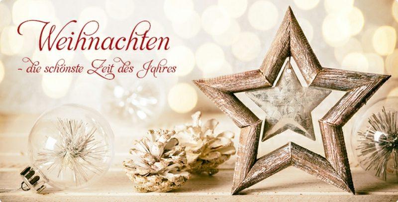 Weihnachten - die schönste Jahreszeit