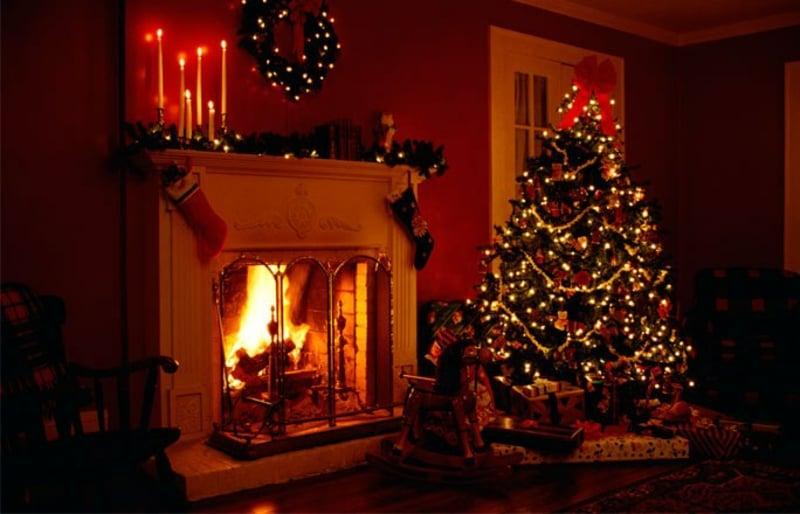 zauberhafte weihnachtliche Atmosphäre