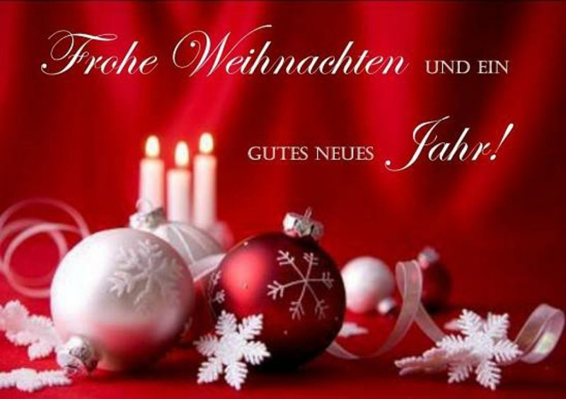 weihnachtliche Sprüche und Glückwünsche für das Neue Jahr