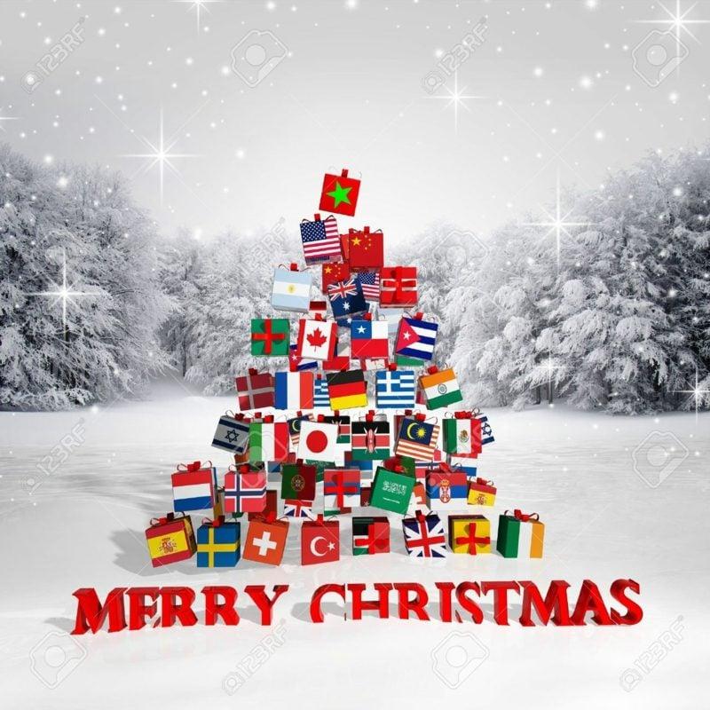 frohe Weihnachten Englisch