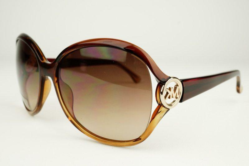 Brillenmode Herbst und Winter 2016 braune Brillen originelles Modell mit Dekorationen