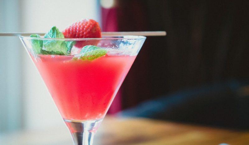 Cocktailrezepte mit Erdbeeren