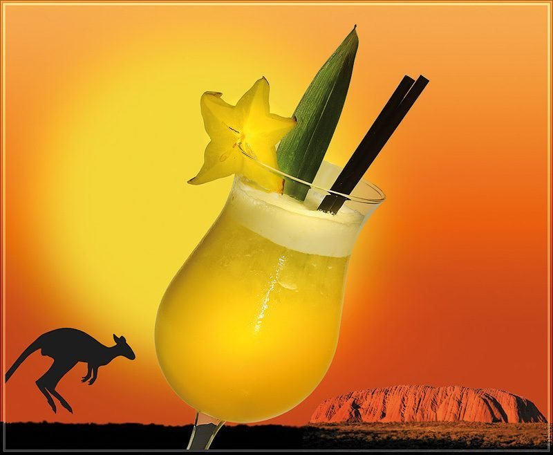 Cocktailrezepte - Flying Kangaroo