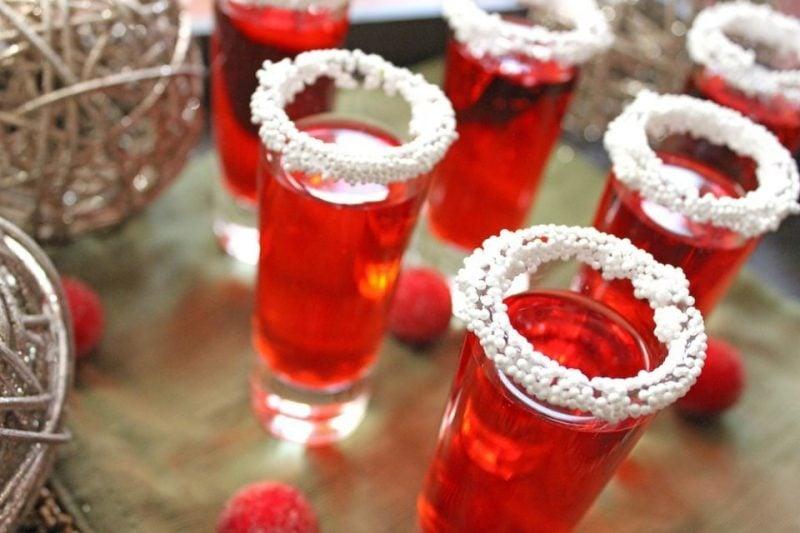 Cocktailrezepte Himbeere Shots