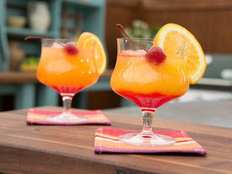 Cocktailrezepte Tequila Sunrise