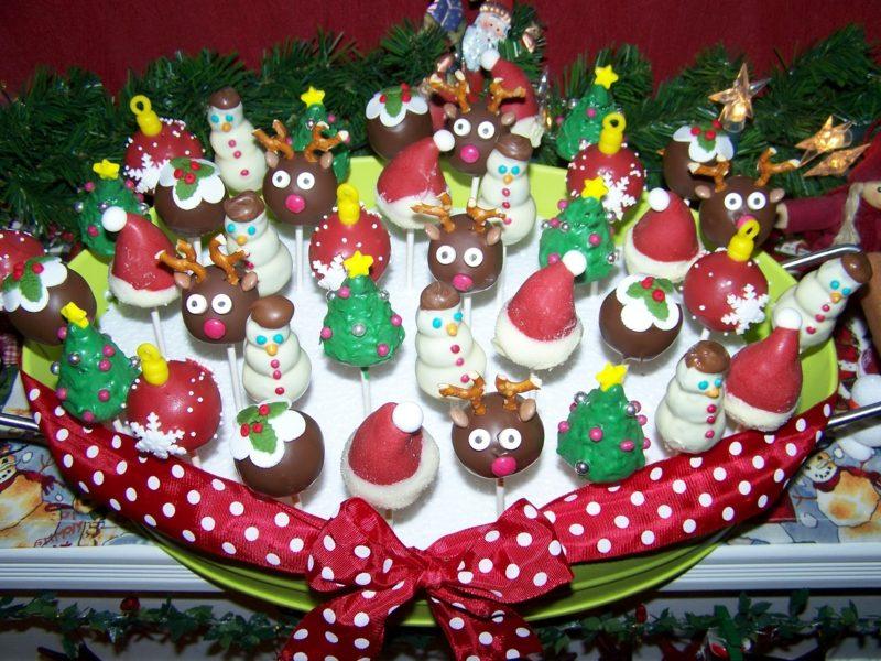 Weihnachts Cupcakes Rezepte und Ideen coole weihnachts