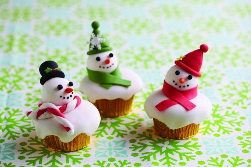 Weihnachts Cupcakes Rezepte und Ideen