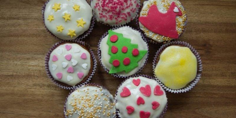 coole weihnachts weihnachts muffins cupcakes