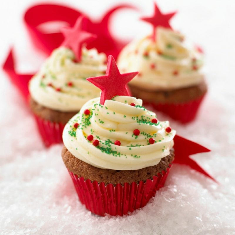 coole weihnachts rezepte cupcakes