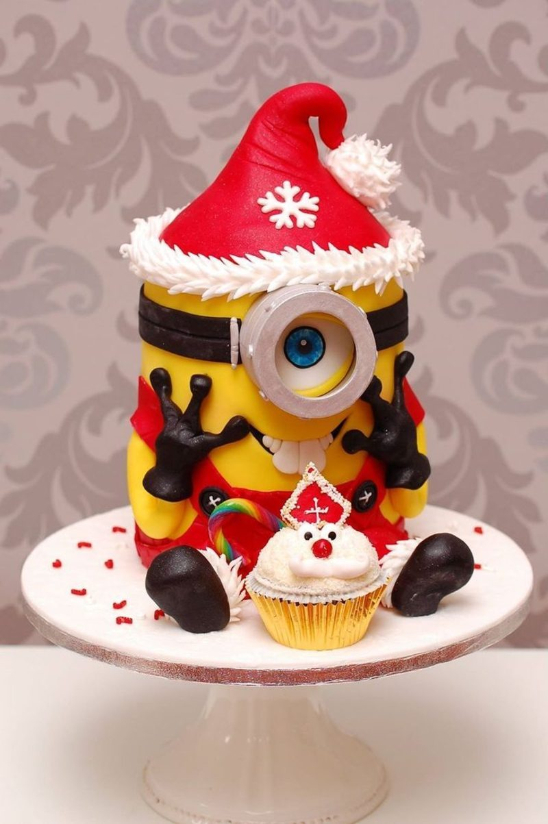 coole weihnachts tolle cupcakes