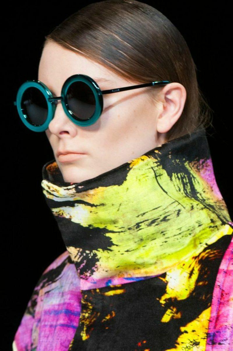 Brillenmode Herbst Winter 2016 extravagante Vintage Brillen