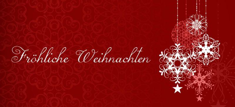 Weihnachtsgruss Deutschland